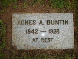 Agnes Almira <I>McGowan</I> Buntin