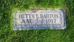 Hetty Elizabeth Barton