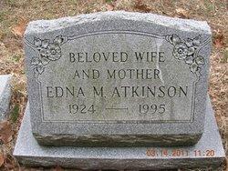 Edna Mae <I>Zane</I> Atkinson