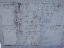 Sarah Jane <I>Brannen</I> Everett