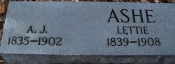 Andrew Jackson Ashe