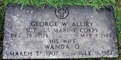 George Walter Alliry