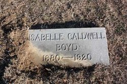 """Isabelle """"Belle"""" <I>Caldwell</I> Boyd"""