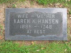 """Karen Katherina """"Carrie"""" <I>Nielsen</I> Hansen"""