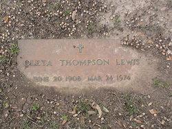 Oleta <I>Thompson</I> Lewis