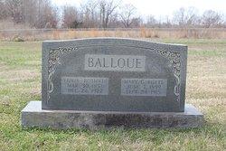 Mary C. <I>Butts</I> Balloue