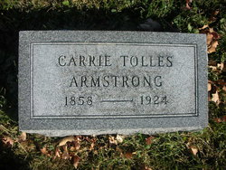 Carrie A. <I>Tolles</I> Armstrong