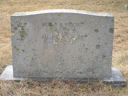 Alice Maud <I>Knowles</I> Wright