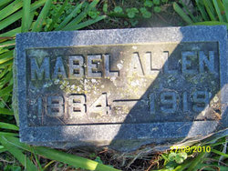 Mabel Ethel <I>Crossett</I> Allen