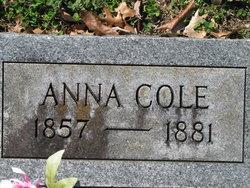 Anna <I>Gordon</I> Cole