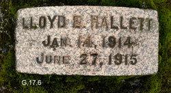 Lloyd E Hallett