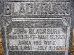 John J Blackburn