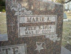 Marie A <I>Emiley</I> Gillette