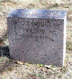 Dr Goodridge A. Wilson