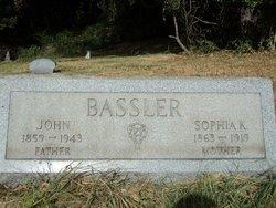 Sophia <I>Kilmer</I> Bassler