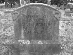 Sue <I>Boyd</I> Barton