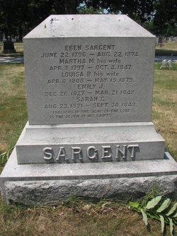 Martha M. <I>Mann</I> Sargent