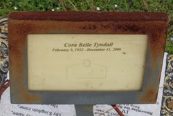 Cora Belle <I>Brown</I> Tyndall