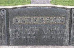 Hansine <I>Larsen</I> Anderson