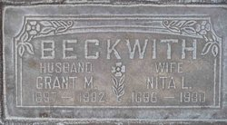 Nita Louise <I>Bissell</I> Beckwith