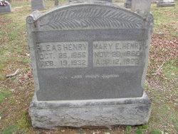 Mary Emily <I>McMurray</I> Henry