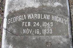 Georgia Cordelia <I>Wardlaw</I> Hickey