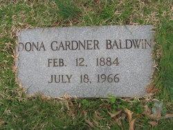 Dona <I>Gardner</I> Baldwin