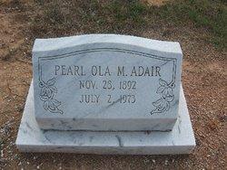 Pearl Ola <I>Malcom</I> Adair