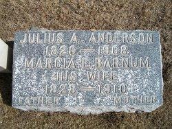 Marcia E <I>Barnum</I> Anderson