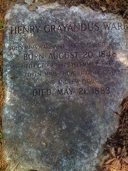 Henry Grayandus Ware