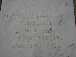 Marguerite <I>Barnes</I> Ginn