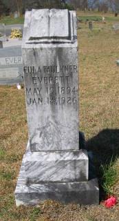 Eula <I>Faulkner</I> Everett