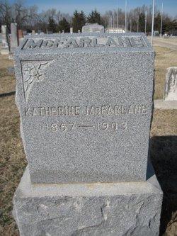 Nancy Katherine Mae <I>Grimes</I> McFarlane