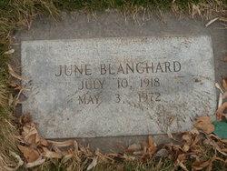 June Blanchard