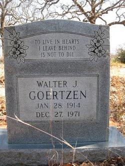 Walter J Goertzen