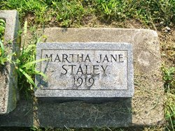 Martha Jane Staley