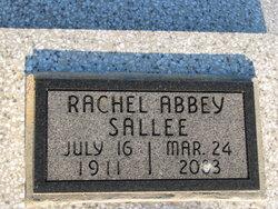Rachel Anna <I>Town</I> Sallee Abbey