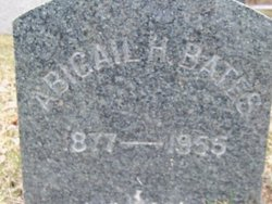 Abigail H. Bates