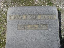 Susan <I>Simms</I> Austin