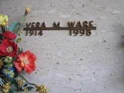 Vera M <I>Bagwell</I> Ware