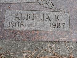Aurelia <I>Kleinknecht</I> Oglesbee