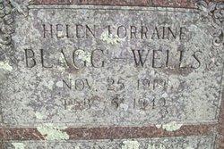 Helen Lorraine <I>Blagg</I> Wells