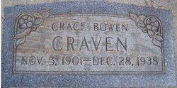 Grace <I>Bowen</I> Craven