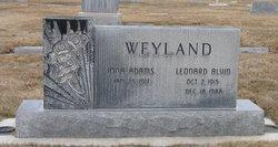 Leonard Alvin Weyland