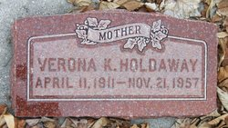 Verona K <I>Boren</I> Holdaway