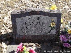 Ansof <I>Strand</I> Hanson