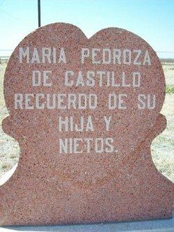 Maria <I>Pedroza</I> de Castillo
