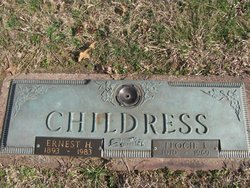Flocie Irene <I>Snodgrass</I> Childress