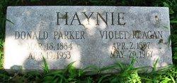 Violet <I>Reagan</I> Haynie