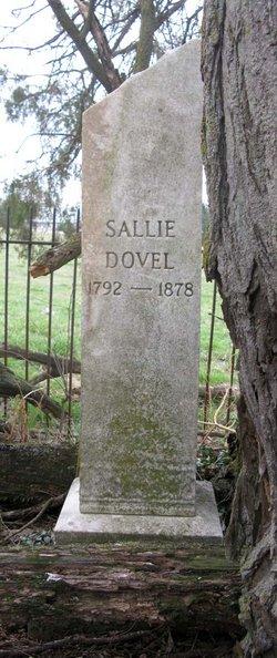 """Sarah """"Sallie"""" <I>Shuler</I> Dovel"""